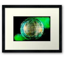 Green // Palladio Framed Print