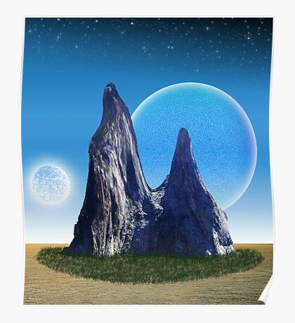 Rock in the Desert Poster