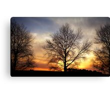 """""""Sunset on the DON"""" Canvas Print"""