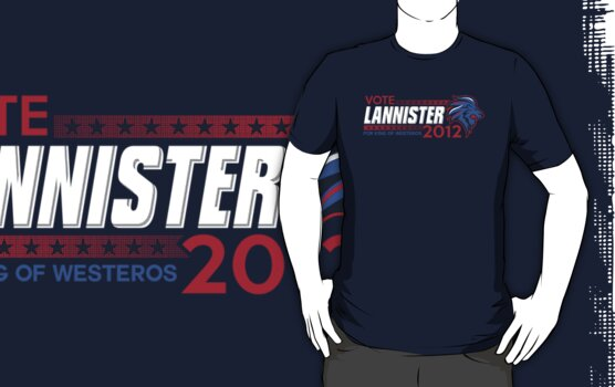 VOTE LANNISTER 2012 by Bamboota