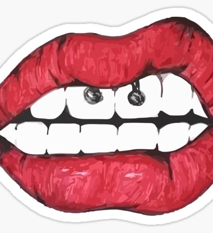 TUMBLR lips Sticker