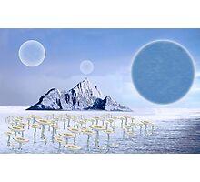 Icy Desert Photographic Print