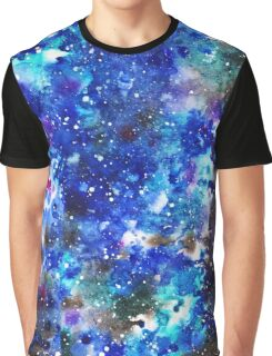 watercolor night sky Graphic T-Shirt