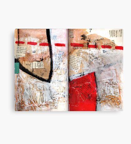 AlteredBook12 #8 Canvas Print