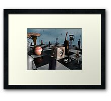 Pawns of The Elite   Framed Print