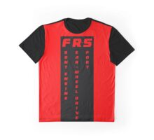 FRS Cut - Front Engine Rear Wheel Drive Sport  Graphic T-Shirt