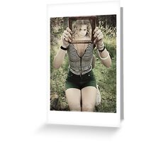 Mirror, mirror Greeting Card