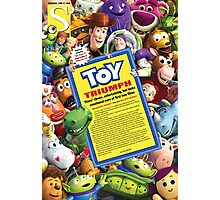 Toy Story 3 (single) Photographic Print