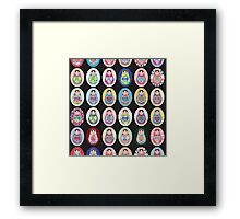 cute doll matryoshka Framed Print