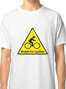 Watch For Cyclists Classic T-Shirt
