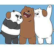 Bear Bros For Life Photographic Print