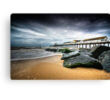 Bad Day at Southwold Canvas Print