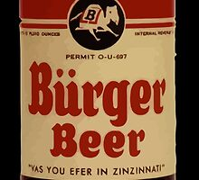 BEER - Vintage Burguer can. by waiting4urcall