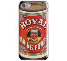 Royal baking powder iPhone Case/Skin