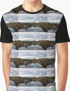 Harbour reflections Graphic T-Shirt