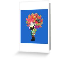 Anemone Annie Greeting Card