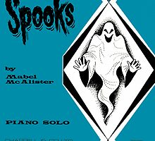 SPOOKS (vintage illustration) by ART INSPIRED BY MUSIC