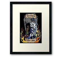 Unhappily Ever After - Lady Death & Evil Ernie Framed Print