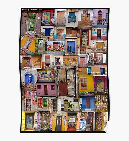 Doorway to Latin America Poster