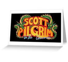 Scott Pilgrim vs. The Universe Greeting Card