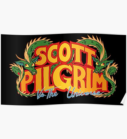 Scott Pilgrim vs. The Universe Poster