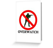 CS:GO Overwatch Logo Greeting Card