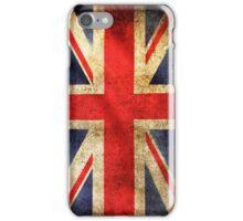 British grunge flag iPhone Case/Skin