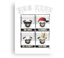 Pug Life Metal Print
