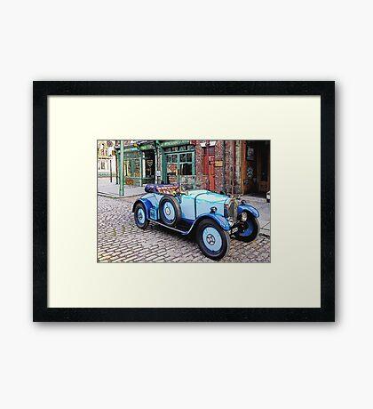 Vintage sports car Framed Print