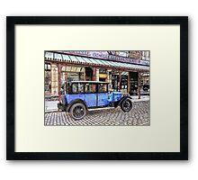 Vintage saloon Framed Print