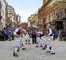 Morris dancers by MrMild