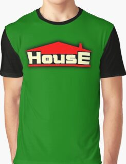 Vintage House Graphic T-Shirt