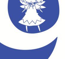 Circle 9 Sticker