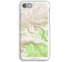 USGS Topo Map Washington State WA Cahill Mtn 240294 1967 24000 iPhone Case/Skin