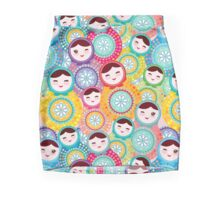 dolls matryoshka Mini Skirt