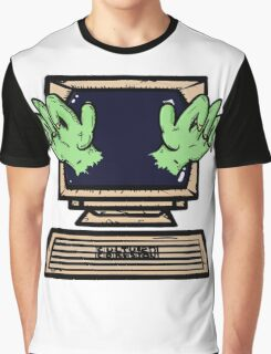 Hands of the Screen Graphic T-Shirt