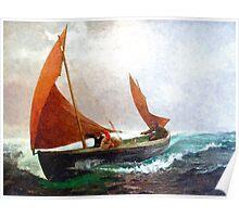 Colorful Seascape c Poster