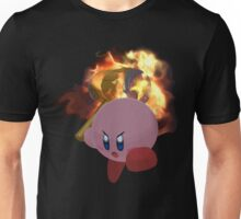 Kirbys' Flaming Hammer Unisex T-Shirt