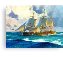 Colorful Seascape d Canvas Print