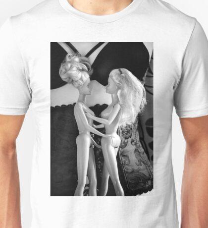 Girls meet girls meet girls. Unisex T-Shirt