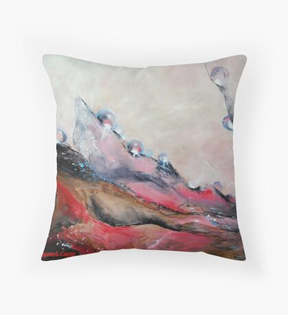 Originel,featured in Art Universe, Best of REdBubble Throw Pillow