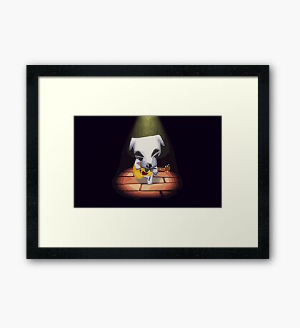K.K Blues Framed Print