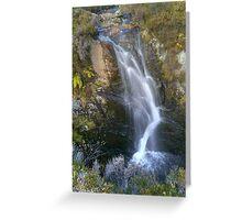 Scottish waterfall Greeting Card