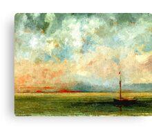 Colorful Seascape f Canvas Print