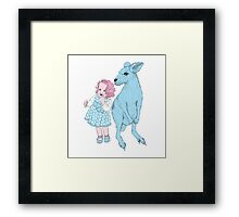 Dotty and Roo Framed Print