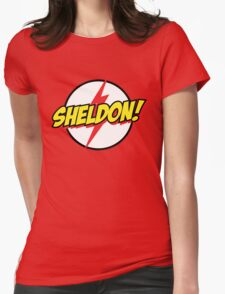 Sheldon Womens Fitted T-Shirt