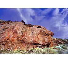 Pig Nose Rock Photographic Print