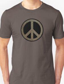 Peace,Love,Music Rusty Sign Unisex T-Shirt