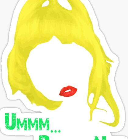 FAT AMY Sticker
