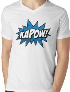 Kapow! Mens V-Neck T-Shirt